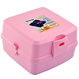 Lunch Box 4 Compartments Lunch Box Lunch Box 14 Children's Lunch Box Lunchbox pink