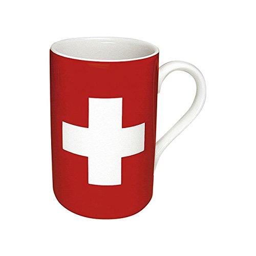 Könitz Porzellan 11 1 003 0126 Rot, Weiß Universal Schüssel/Becher (Universal, Solo, 0,31 L, Rot, Weiß, Porzellan, 1 Stück)