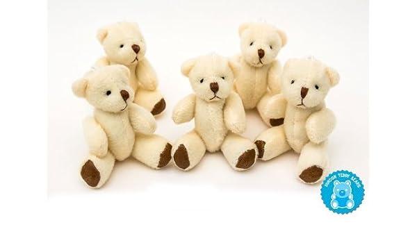 35 Cute Small Mini Teddy Bear Stuffed Animal Doll Plush Soft Toy Christmas Gift