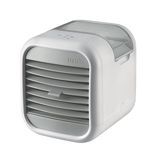 HoMedics MyChill 2.0, Raffrescatore d'Aria, Abbassa la temperatura fino a 6.6 C, Basso consumo energetico, Potenza 6 W, Ideale per ufficio, mentre studi, in cucina, in camera da letto, A+