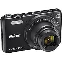 Nikon Coolpix S7000 Fotocamera Digitale Compatta, 16 Megapixel, Zoom 20X, 6400 ISO, LCD 3