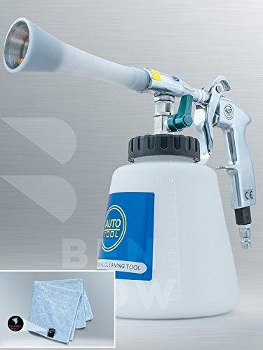 Preisvergleich Produktbild BENBOW Druckluft Reinigungspistole Classic Metall (04T) + Mikrofasertuch