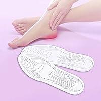 RoadRomao Cojín de Zapato de Espuma de Memoria Unisex Empotrado Cojín de Zapato Ajustable para Hombres y Mujeres