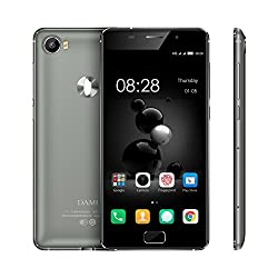 Dami D6 4G water Resistant 5.0 Inch 3GB RAM 32GB ROM Octa Core 1.5 GHz With 16MPix /8Mpix camera With Jio Sim Support Smartphone in Black