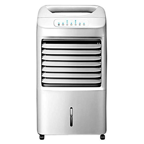 HAIPENG Mobile Tragbare Klimaanlage Klimagerät Luftkühler Lüfter 4 In 1 3 Geschwindigkeiten Kühlung Heizung Luftbefeuchter Luftreiniger Zeitliche, 50W
