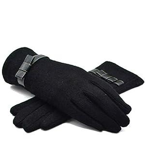 GCC Bow Kaschmir Handschuhe Winter Dame