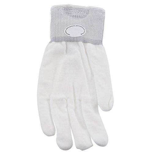 junejour 1LED Handschuhe Blinklicht bis Skelett Hand Handschuhe Party Supplies für Vereine Eaves Festivals Halloween Spiele Bonfire Night (3 Kostüme Halloween Freunde Für Passende)