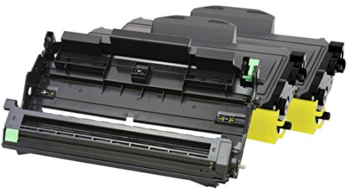 TONER EXPERTE 2 Toner + Tamburo compatibili per Brother TN2120 TN2110 DR2100 HL-2140 HL-2150 HL-2170 MFC-7320 MFC-7340 MFC-7440 MFC-7840 DCP-7030 DCP-7040 DCP-7045