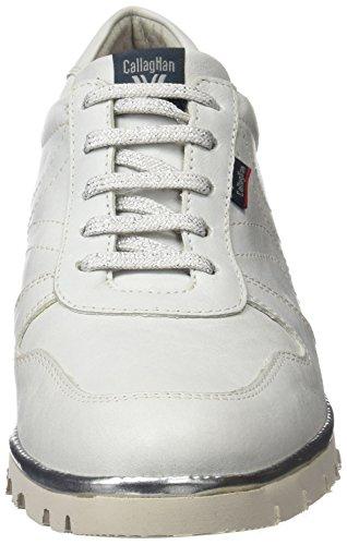 CallagHan Damen 10309 Schnürhalbschuhe Weiß (White)