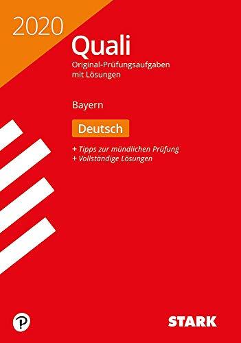 STARK Original-Prüfungen Quali Mittelschule 2020 - Deutsch 9. Klasse - Bayern