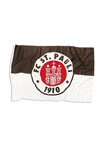 "FC St Pauli Hissfahne ""LOGO"" 150x100cm mit Ösen"