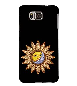EPICCASE romantic sunflower Mobile Back Case Cover For Samsung Galaxy Alpha (Designer Case)