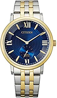 CITIZEN Mens Quartz Watch, Analog Display and Stainless Steel Strap - BE9176-76L
