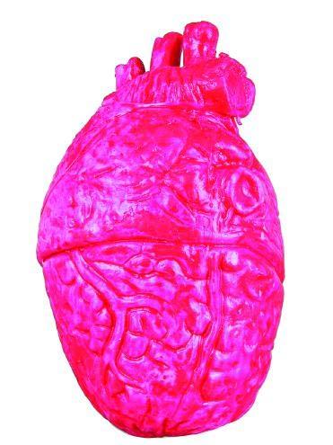 een Gummiherz Innerei Pumpe Heart ()