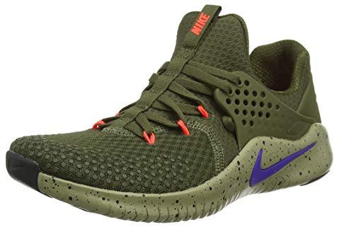 Nike Herren Free Trainer V8 Traillaufschuhe Mehrfarbig Canvas/Indigo Burst/Neutral Olive 342, 44.5 EU (Männer Training Cross Schuhe Nike)