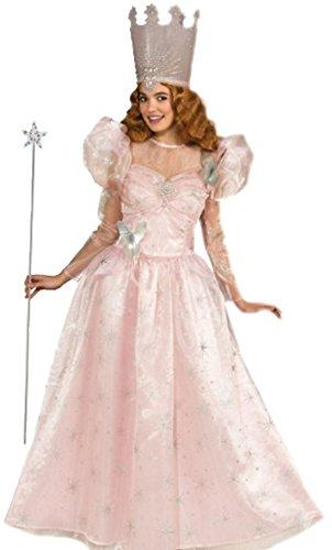Glinda, Die Gute Hexe, Fee, Kostüm, Karneval, M, Rosa (Tiana Kostüm Erwachsene)