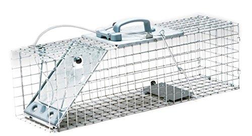 #Havahart Lebendfalle, 1-türige Easy Set Käfigfalle für Kaninchen und große Eichhörnchen#