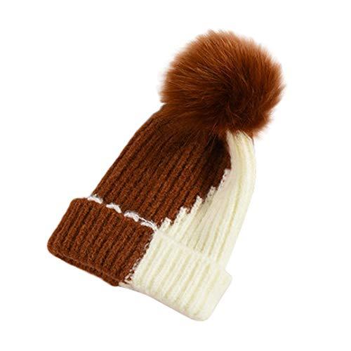 cinnamou Warme Mütze Winter Baby Junge Mädchen Hut Slouch Neugeborenenmütze Beanie Kinder Unisex Mützen Hüte