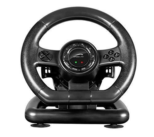Speedlink Gaming Lenkrad für PC / Computer - Black Bolt Racing Wheel USB (Generalüberholt)
