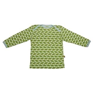 Loud + Proud Unisex - Baby Sweatshirt 205, Gr. 110/116, Grün (Moos )