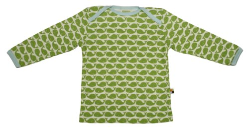 Loud + Proud Unisex - Baby Sweatshirt 205, Gr. 74/80, Grün (Moos )