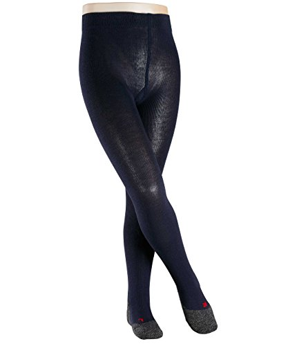 falke kinderstrumpfhosen FALKE Mädchen Strumphosen / Leggings Active Warm - 1 Paar, Gr. 98-104, blau, warme Merinowolle, weiche Plüschsohle, Outdoor
