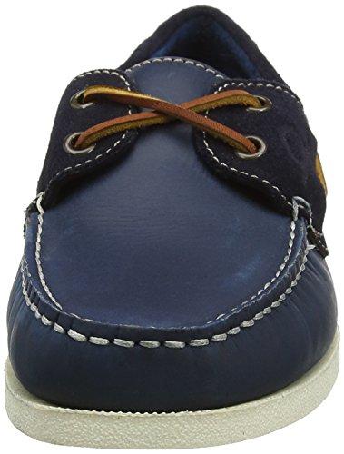 Chatham Galley, Chaussures Bateau Homme Bleu (bleu marine/bleu)