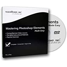 Learn Photoshop Elements 2018 Training Tutorial DVD-ROM Course: A Comprehensive Guide, Video Lessons and PDF Manuals