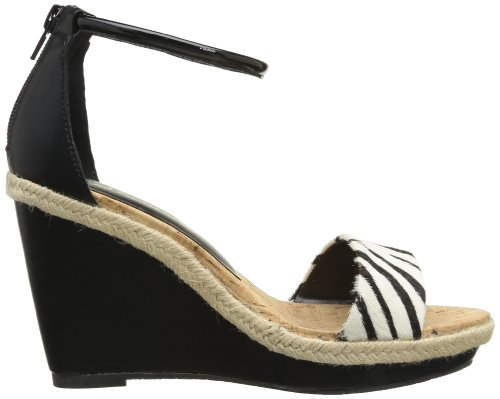 Chocolate Schubar - Bliss, Sandali Donna Nero (Noir (Black))