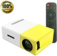 projector LED White & Yellow y