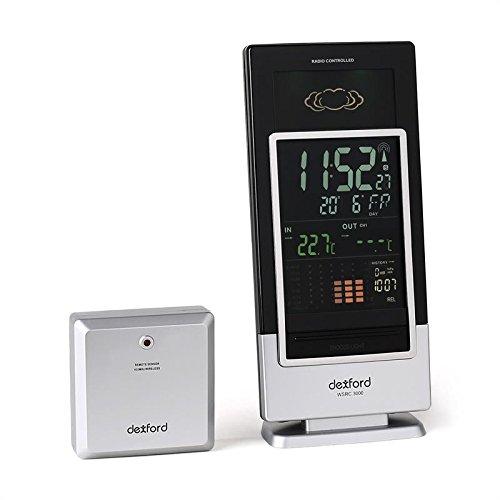 Switel wsrc3000Wetterstation mit Radio/Uhr Schwarz