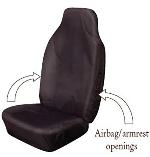 XtremeAuto® BLACK HEAVY DUTY, WATERPROOF, SEAT COVER for sale  Delivered anywhere in UK