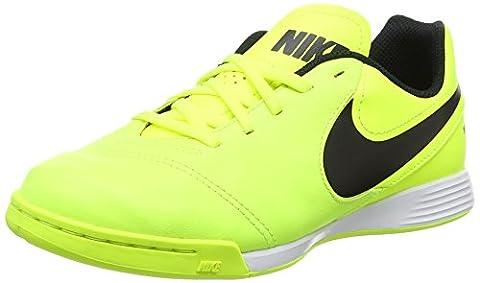 Nike Jungen Tiempox Legend VI IC Fußballschuhe, Grün (Volt/Black/Volt), 35.5 EU