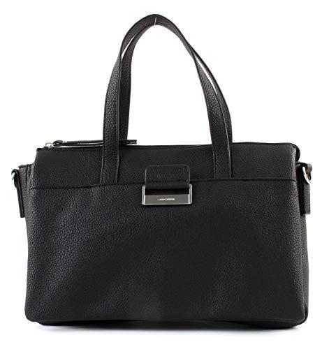 Gerry Weber Damen Talk Different Ii Handbag Shz Henkeltasche, Schwarz (Black), 6x21x32 cm