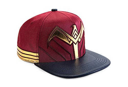 DC Comics Batman vs. Superman Wonder Woman Symbol Snapback Gorra De Béisbol