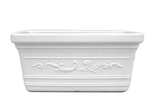 Nouvelle Plastique Adriatique npa025 Jardinière Prestige, Blanc