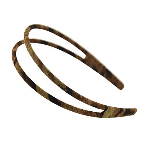 Filles élégant Coiffe Cheveux Fermoir Élégant Double-deck Bandeau Band Hair B