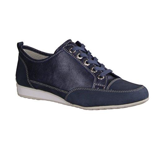 Gabor Comfort 86353-60 - Damenschuhe Sneaker, Blau Blau