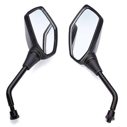ZHENWOFC Specchietti moto per Kawasaki Z1000 Black Rear View Accessori per utensili fai-da-te