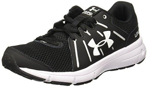 Under Armour UA W Dash RN 2, Chaussures de Running Femme Noir (Black 001)