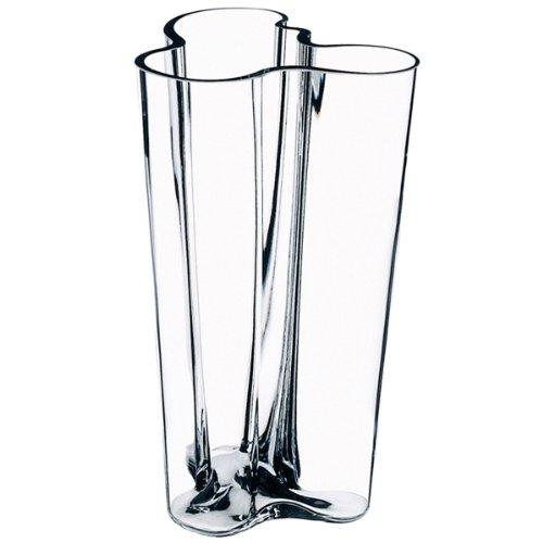 Iittala 004198 Aalto Finlandia Vase, klar, 251 mm