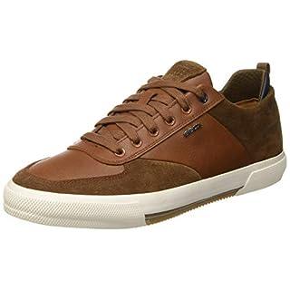 Geox Herren U Kaven a Sneaker Braun (Browncotto/Cognac C6g6n) 45 EU
