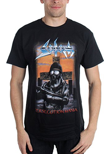 Hornes electronic Men's Persecution Mania T-shirt Black