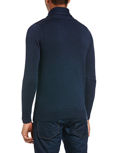 Jack And Jones Lowman - Pull - Col à boutons - Manches longues - Homme Bleu