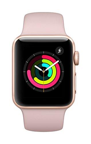 Apple Watch Series 3 GPS 38mm Smart Watch (Gold Aluminum...