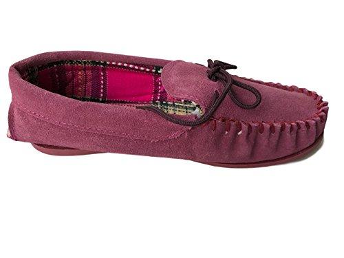 KURU, Pantofole donna Burgandy