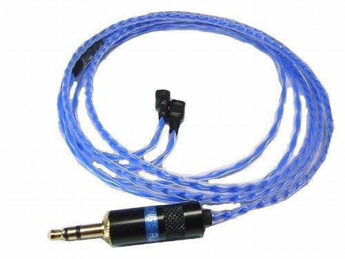 Song's Teflon Sennheiser Câble de remplacement haut-de-gamme pour IE8, IE80