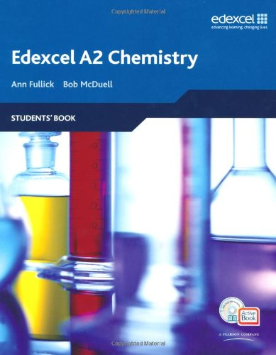 Edexcel A Level Science: A2 Chemistry Students' Book with ActiveBook CD (Edexcel GCE Chemistry)