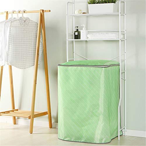 Preisvergleich Produktbild WyaengHai Waschmaschinendeckel Twill Oxford Waschmaschine Trommel Pulser Automatic Straight Washer Cover Geeignet für die meisten Top- oder Frontlader-Waschtrockner (Farbe : Grün)