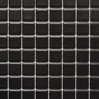 Mosaik Fliesen Matte Schwarz HeimwerkerMarktde - Mosaik fliesen schwarz matt